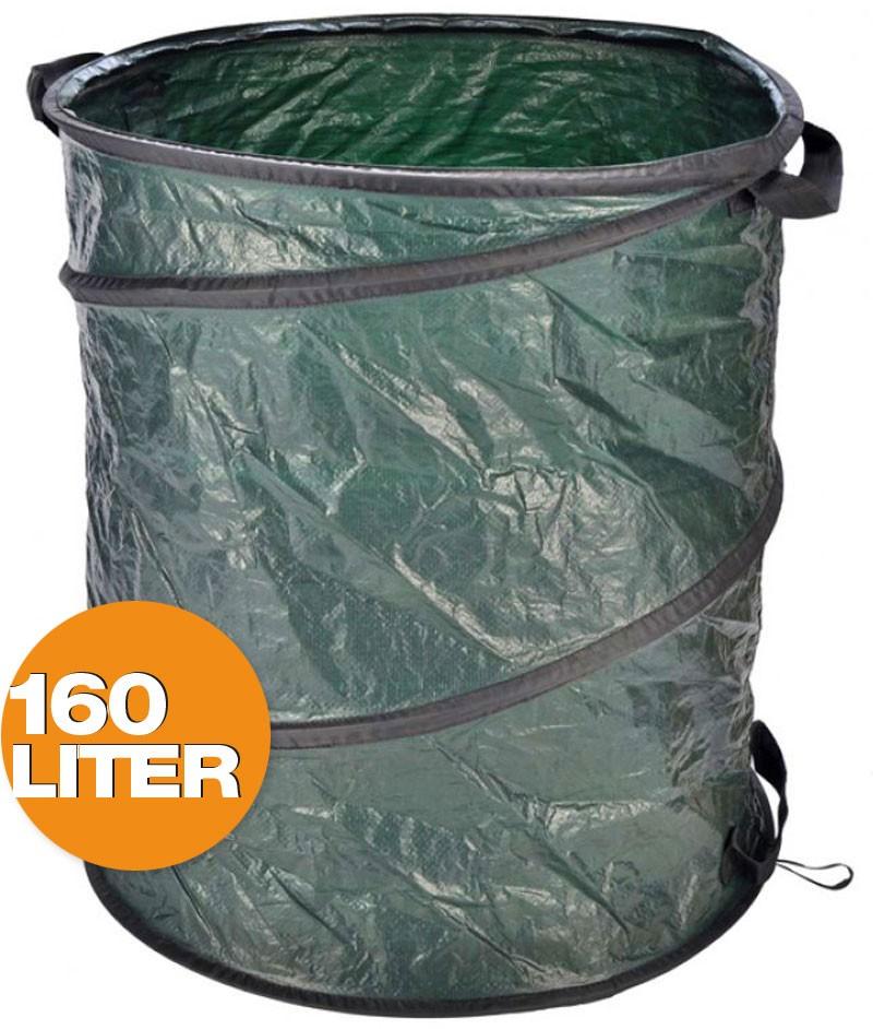 Pop-Up Multifunktionstonne GARTENSACK Laubsack Gartentasche 160 Liter