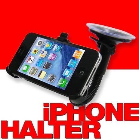 AUTO- / KFZ- HALTER für Windschutzscheibe - iPhone 5 + 5s ★ SALE ★ AUSVERKAUF ★