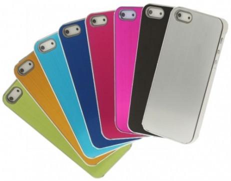 SCHUTZ-HÜLLE Case Metall gebürsted für iPhone 5 + 5s ★ SALE ★ AUSVERKAUF ★