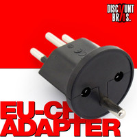 10 × Permanent Fix-Adapter Stecker SCHUKO (Typ F CEE 7) zu Schweiz (T12) 3-polig teilisoliert