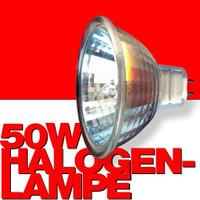 HALOGEN-LAMPE Reflektorlampe Leuchtmittel 50Watt 50mm 2er-Pack 001