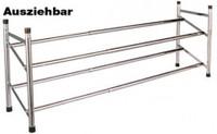 Vario II SCHUHREGAL-Systemelement Stapelbar Breite: 62-117cm