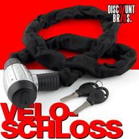 KETTENSCHLOSS Mofa- Motorrad- Veloschloss 120×3cm