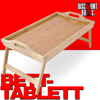 BETT-TABLETT Betttablett aus Bambus