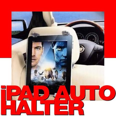 Auto KFZ KOPFSTÜTZEN HALTERUNG für iPad und Tablet PC – Bild 1