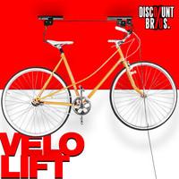 Deckenlift VELOLIFT Fahrradlift - TüV/GS-geprüft.