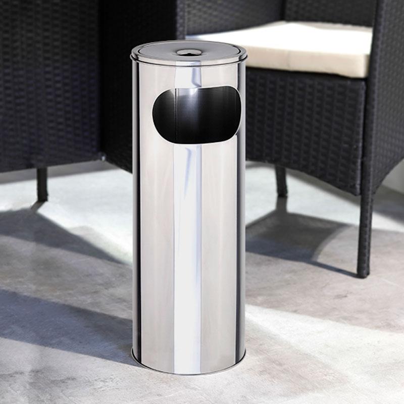 STAND-ASCHENBECHER Aschenbecher für Müll- und Zigarettenabfälle 58cm