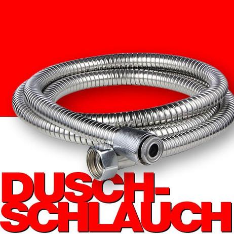 Edelstahl DUSCHSCHLAUCH Brauseschlauch 150cm