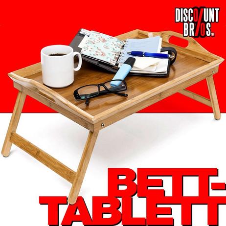 BETT-TABLETT Betttablett klappbares Tablett aus Bambus lackiert – Bild 1