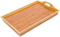BETT-TABLETT Betttablett klappbares Tablett aus Bambus lackiert