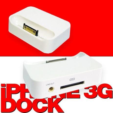 Ladestation, Dock für Apple iPhone 3G und 3GS. – Bild 1