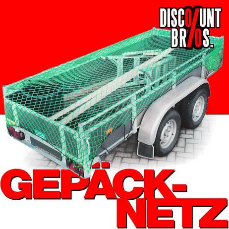 GEPÄCKNETZ Anhängernetz Ladungssicherungsnetz 2×3m