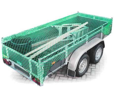 GEPÄCKNETZ Anhängernetz Ladungssicherungsnetz 2×3m – Bild 3