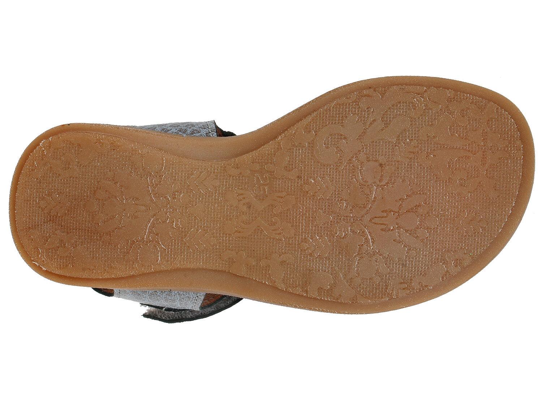 Bisgaard modische Sandalen 70203 Leder blau Mädchen Klett Gr 25-34 Neu