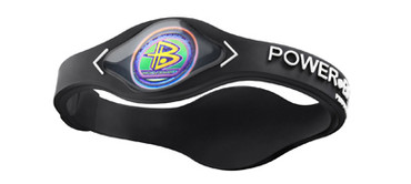Power Balance Silikon Armband - Black - L