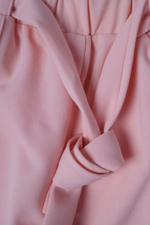 DSguided High Waist Damen Hose mit Bindegürtel Elegant hohem Bund Stretch Hose mit Tunnelzug Pants Casual Streetwear  – Bild 16