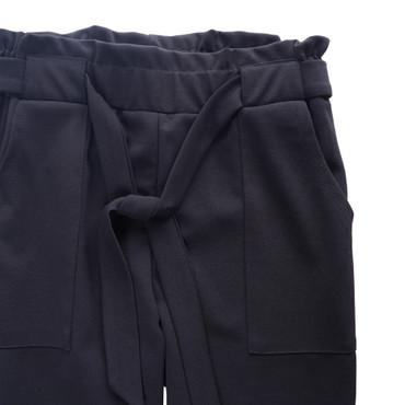 DSguided High Waist Damen Hose mit Bindegürtel Elegant hohem Bund Stretch Hose mit Tunnelzug Pants Casual Streetwear  – Bild 21