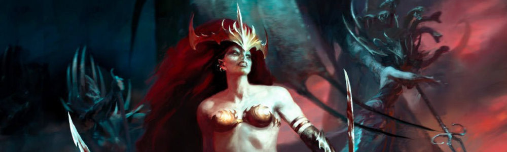 Daughters of Khaine Grand Alliance of Order Age of Sigmar Tabletop Game