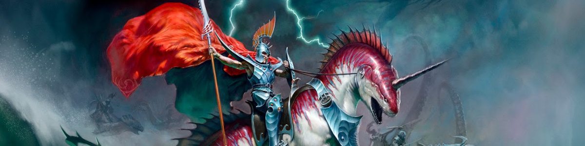 Idoneth Deepkin Grand Alliance of Order Age of Sigmar Tabletop Game