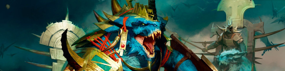 Seraphon Grand Alliance of Order Age of Sigmar Tabletop Game