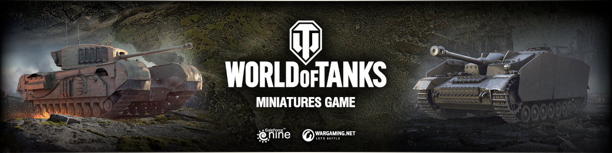 World of Tanks Tabletop Game