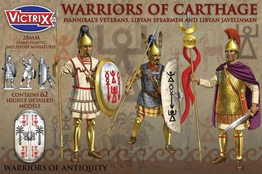 Warriors of Carthage 28mm