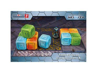 Quad Cargo Crates