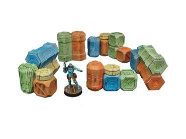 Cargo Crates Piles