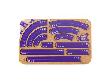 Star Wars X-Wing Space Fighter Manouver Tray 2.0 Purple Templates