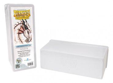Dragon Shield 4 Compartment Storage Box White