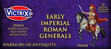 Early Imperial Roman Mounted Generals 28mm