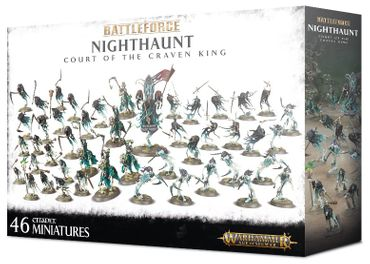 Battleforce Nighthaunt Court of the Craven King