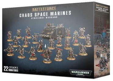 Battleforce Chaos Space Marines Vengeance Warband