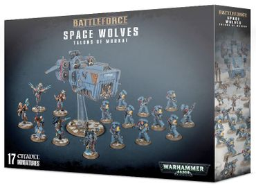 Battleforce Space Wolves Talons of Morkai