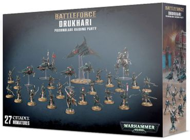 Battleforce Drukhari Poisonblade Raiding Party