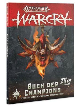 Warhammer Age of Sigmar Warcry Buch der Champions 2019 (Deutsch)