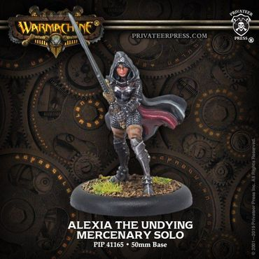 Mercenary Alexia the Undying Solo