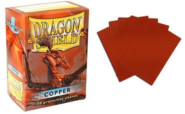 Dragon Shield Copper 100 protective Sleeves