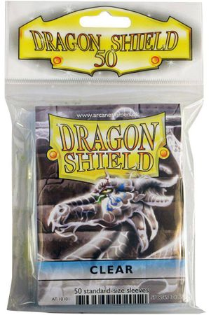 Dragon Shield Clear 50 protective Sleeves