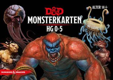 Dungeons & Dragons Monster Deck 0-5 (Deutsch)