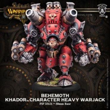 Khador Behemoth Character Heavy Warjack