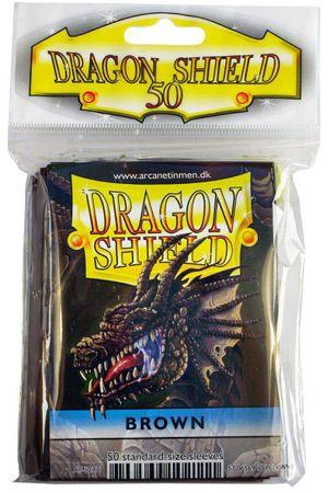 Dragon Shield Brown 50 protective Sleeves