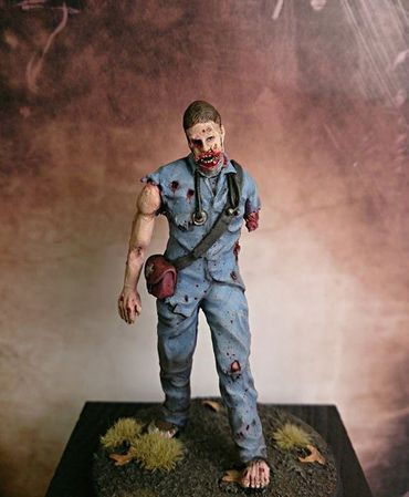 Zombie - Doctor WHO 1/35 (54mm) – Bild 1