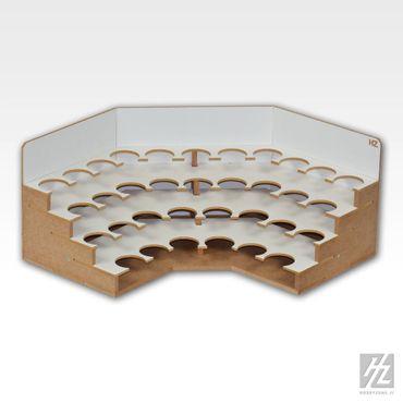 Eck Farbhalter / Farbrack Modul 36mm (Corner Paints Module 36mm) MWS