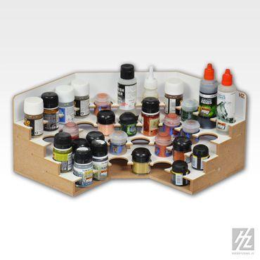Eck Farbhalter / Farbrack Modul 36mm (Corner Paints Module 36mm) MWS – Bild 2