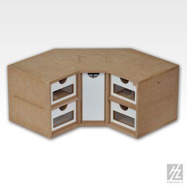 Eck Schubladen Modul (Corner Drawers Module) MWS