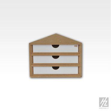 Eckabschluss Schubladen Modul (Ending Corner Drawers Module) MWS