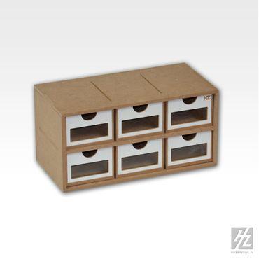 Schubladen Modul x 6 (Drawers Module x 6) MWS – Bild 1