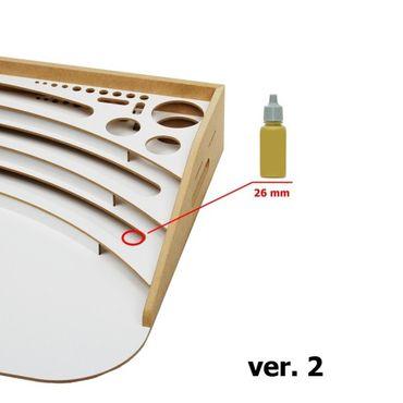 Professioneller mobiler Maltisch Ø 26mm (Professional Paint Station) – Bild 3