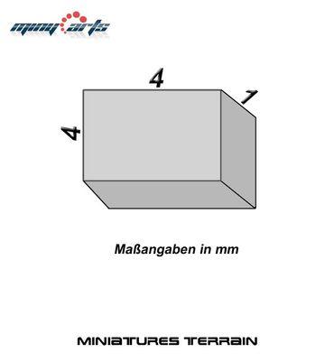 10 Neodym Magnete quadratisch 4 x 4 x 1 mm